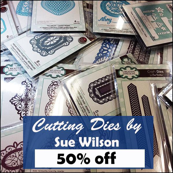 50% off Sue Wilson