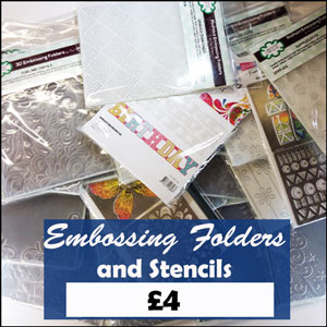 £4 Folders and Stencils
