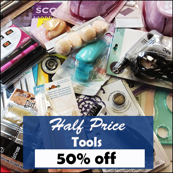 50% off Tools and Punches