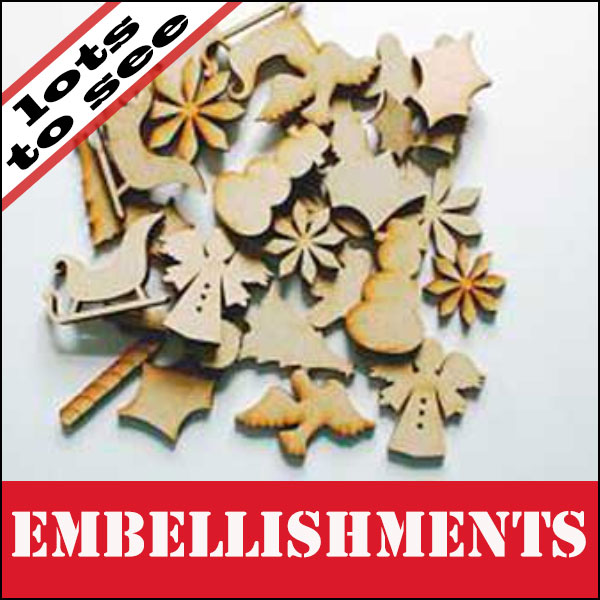SALE Embellishments
