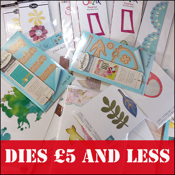 Cutting Dies £5 or less