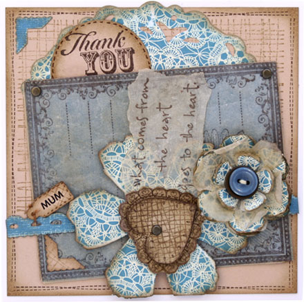 Thank you by Louise Molesworth