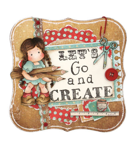 Go and create by Louise Molesworth