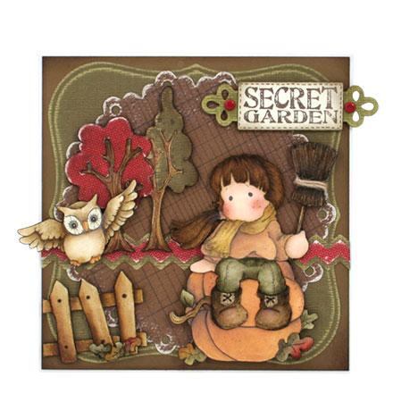 Secret garden by Louise Molesworth