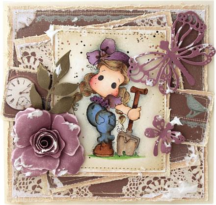 Gardening Tilda by Fleur Pearson