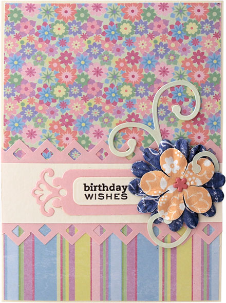 Floral Birthday Wishes by Lady Stampalot