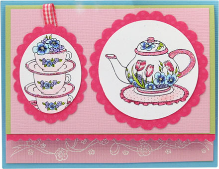 Spring teapot by Great Impressions
