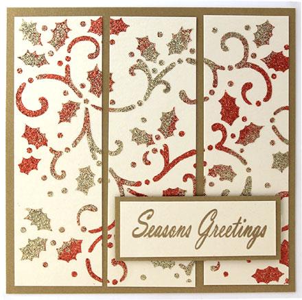 Season's Greetings by Jayne Saunders