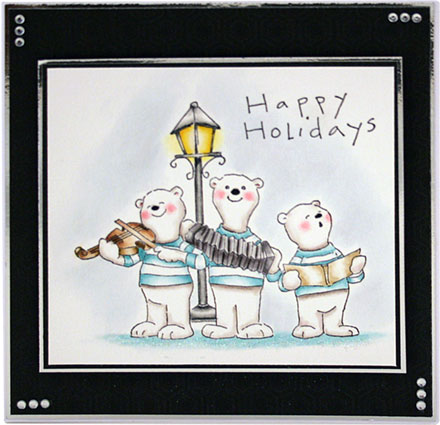 Happy Holidays by Sara Rosamond