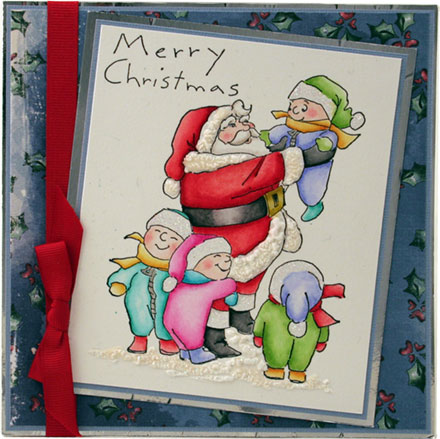 Merry Christmas Little Ones by Sara Rosamond