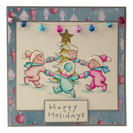 Happy Holidays by Sara Rosamond
