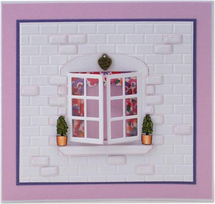 Washi Tape Window Curtains by Sara Rosamond