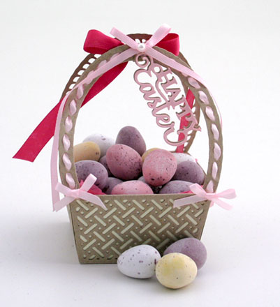 Easter basket decoration by Sara Rosamond