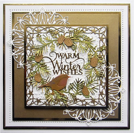Warm Winter Wishes by Creative Expressions