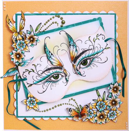 Thalia Masquerade by Sara Rosamond