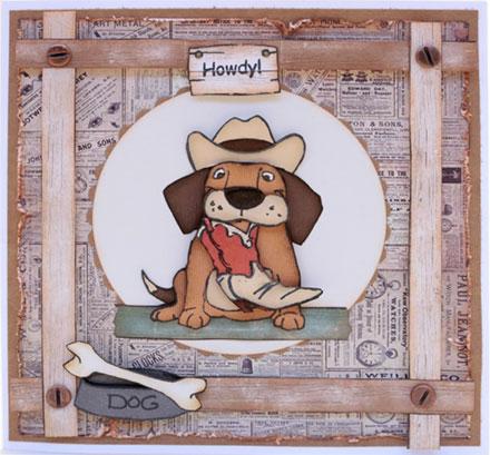 Howdy Dawg! by Sara Rosamond