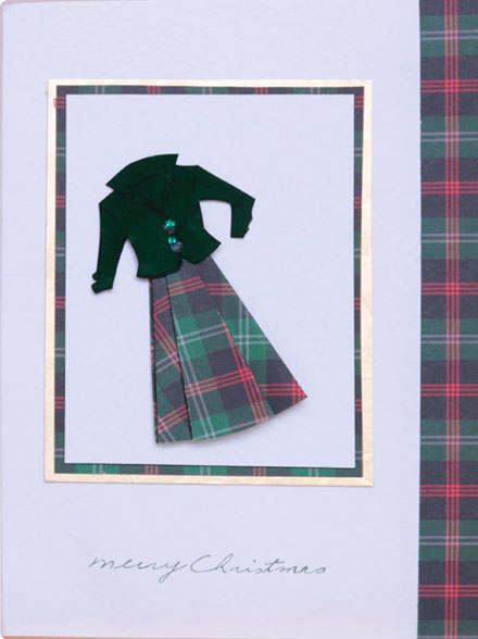 Scottish Merry Christmas by Gina Martin