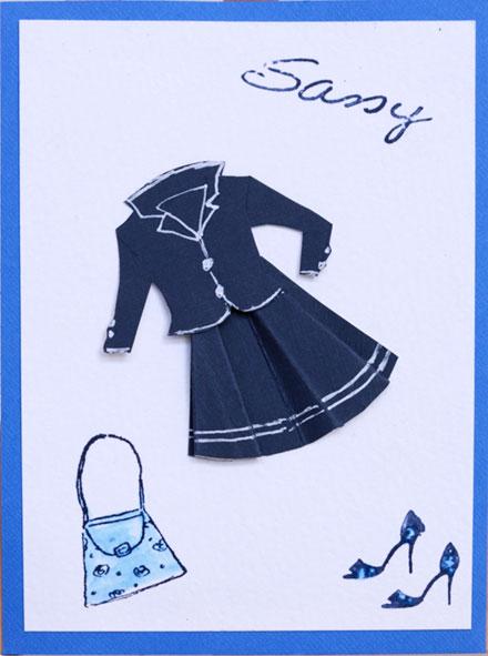 Sassy Jacket Outfit by Gina Martin